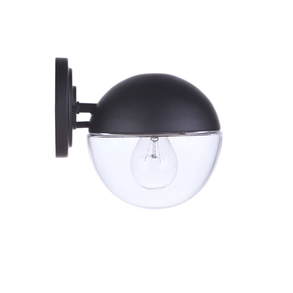 Evie Midnight Seven-Inch One-Light Outdoor Wall Sconce, image 6