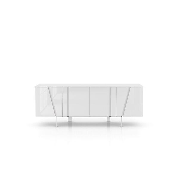 Mott Glossy White Sideboard, image 7