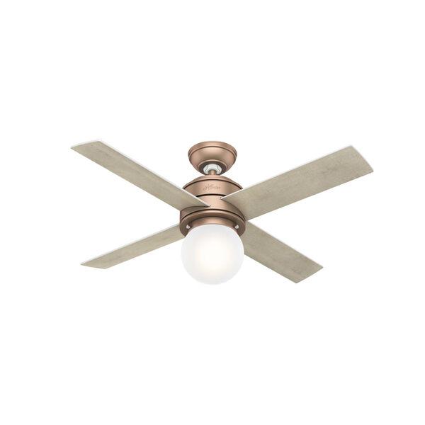 Hepburn Satin Copper 44-Inch LED Ceiling Fan, image 3
