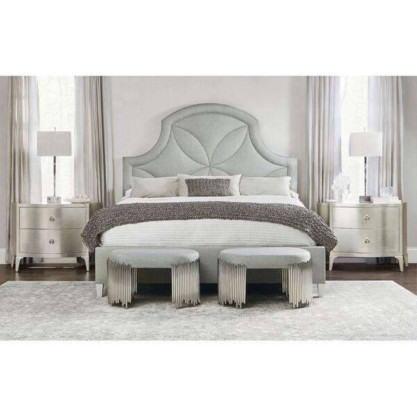 Silken Pearl Calista Upholstered Bed, image 6