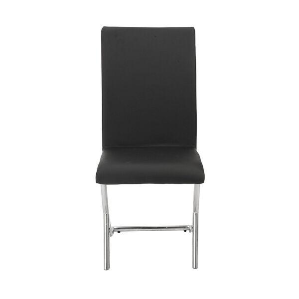 Cordelia Black 17-Inch Side Chair, Set of 2, image 1