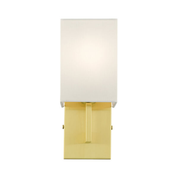 Meridian Satin Brass One-Light ADA Wall Sconce, image 3