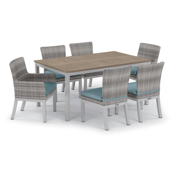 Travira 63-Inch Vintage Tekwood Dining Table, image 5