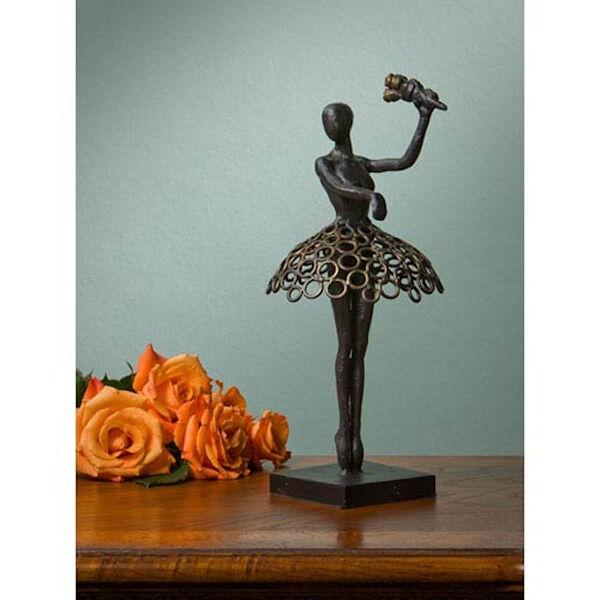 Bronze Iron Ballerina, image 1