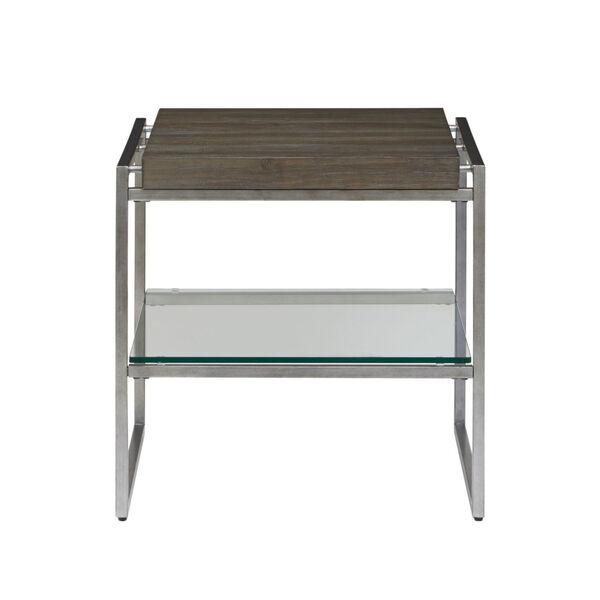 Thiago Brown Rectangular End Table, image 2