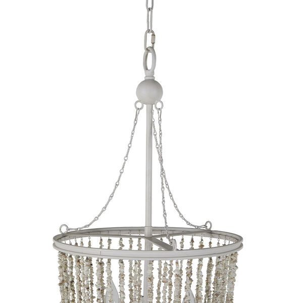 Jenny Coral White Chandelier, image 6