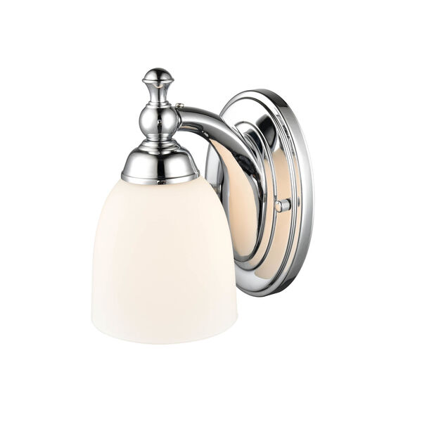 Chrome Five-Inch One-Light Wall Sconce, image 3