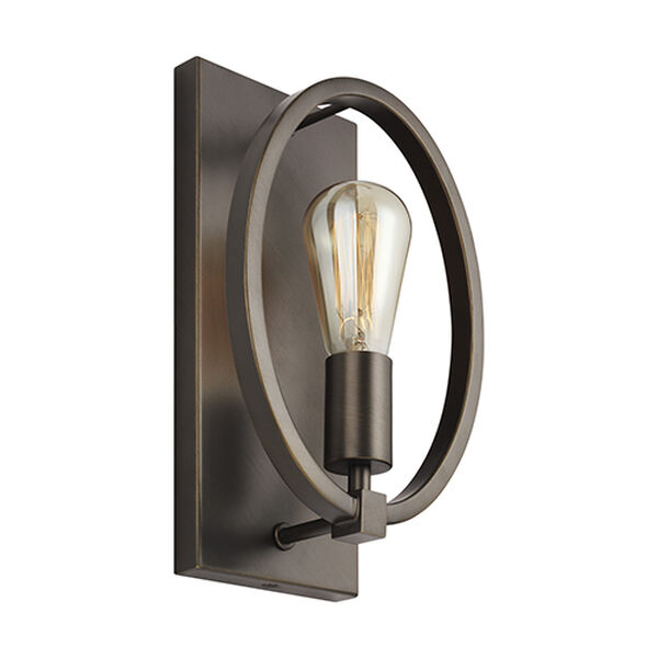 Cardiff Bronze One-Light Wall Sconce, image 2