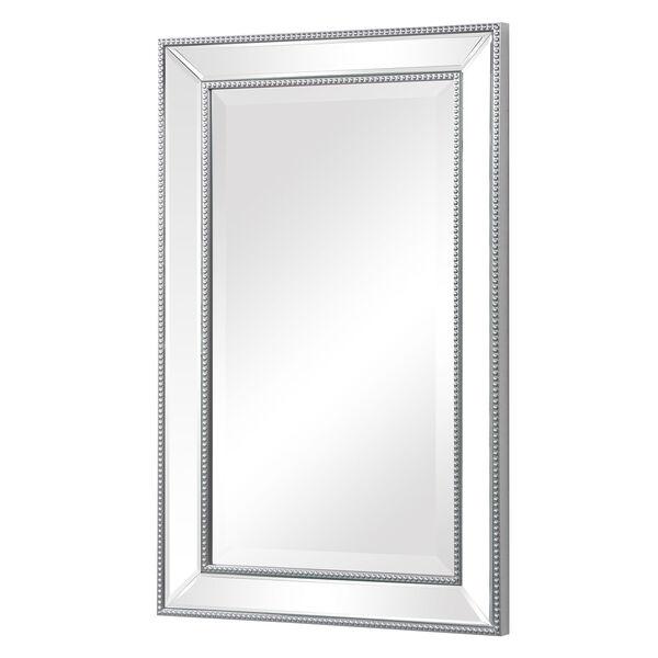 Monroe Silver Framed Rectangular Wall Mirror, image 4