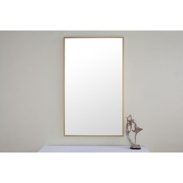 Eternity Brass 24-Inch Mirror, image 1