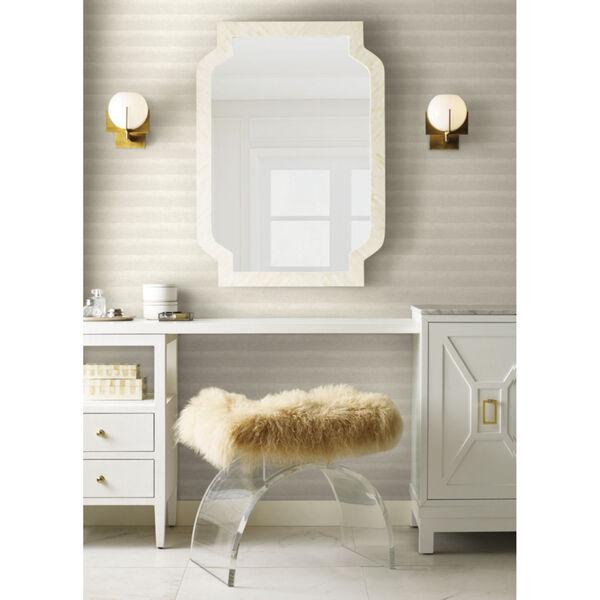 Antonina Vella Elegant Earth White Platinum Dunes Sand Prints Wallpaper, image 1