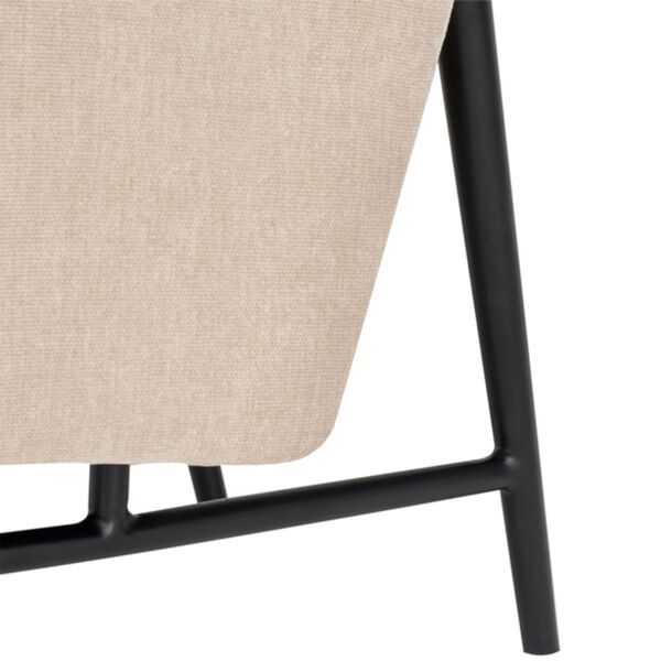 Mathise Almond and Black Occasional Chair, image 4