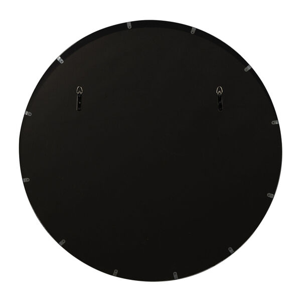 Sabine Matte Black 39-Inch Wall Mirror, image 3