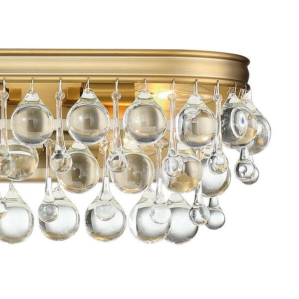 Calypso Eight-Light Vibrant Gold Bath Light, image 2