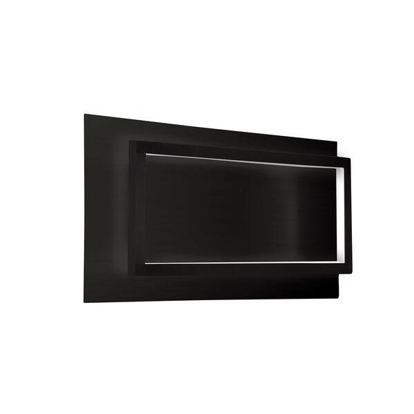 Mondrian Black 16-Inch One-Light LED Sconce, image 1