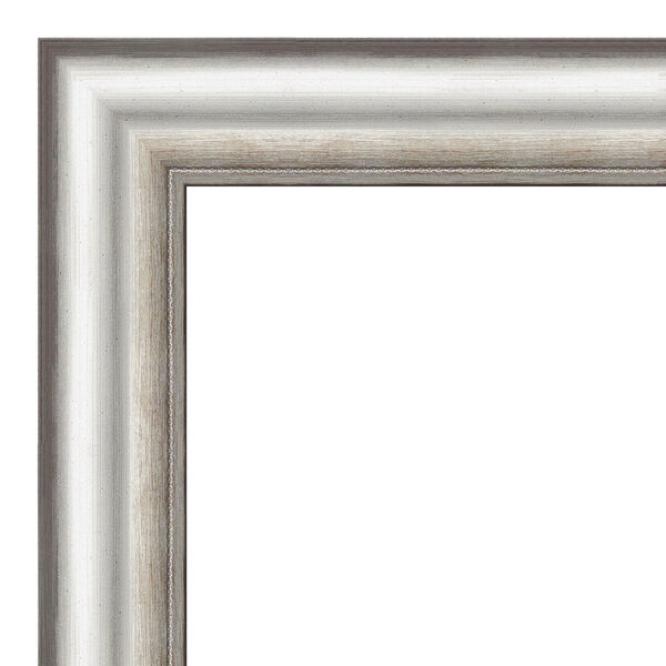 Salon Silver 29W X 65H-Inch Full Length Floor Leaner Mirror, image 2
