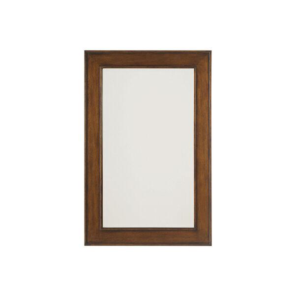 Ocean Club Brown Palm Isle Mirror, image 1