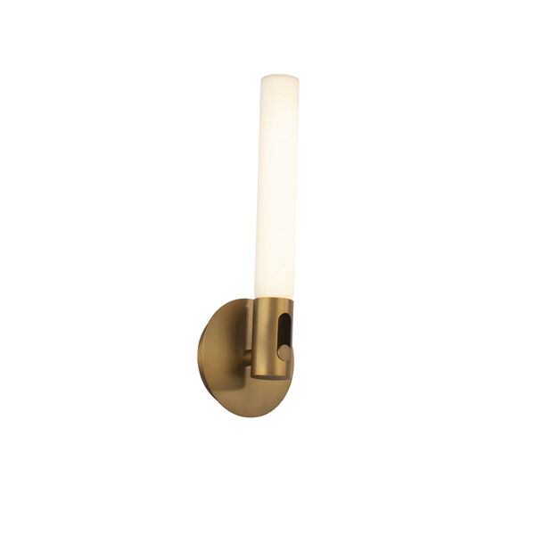 Clare Aged Brass LED ADA Bath Vanity, image 1