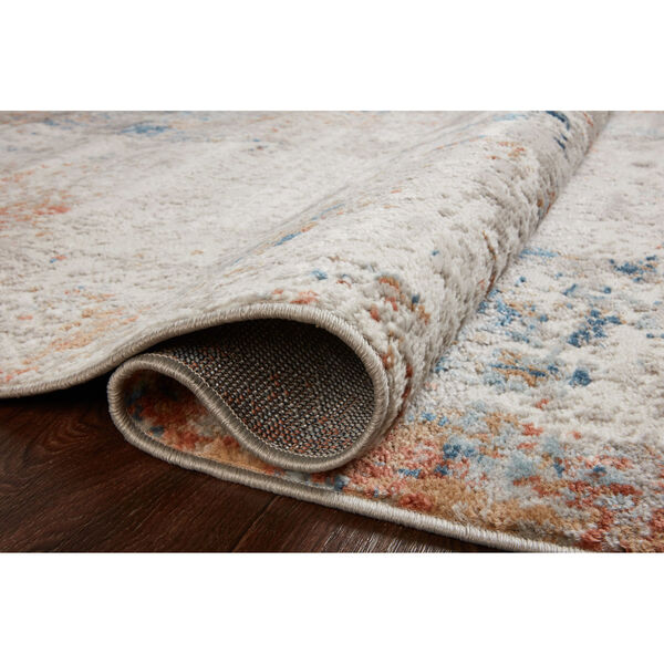 Bianca Ivory, Spice and Blue 9 Ft. 9 In. x 13 Ft. 6 In. Area Rug, image 4
