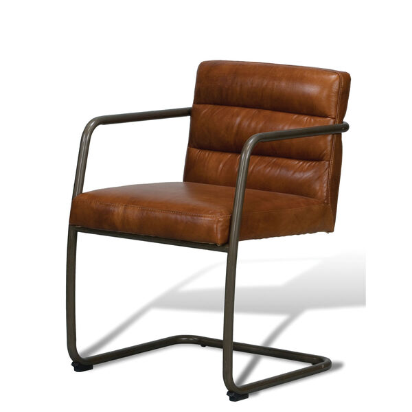 Brown Directors Chair, image 1