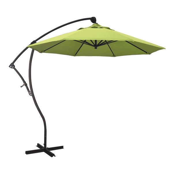 Bayside Bronze with Parrot Nine-Feet Sunbrella Patio Umbrella, image 1