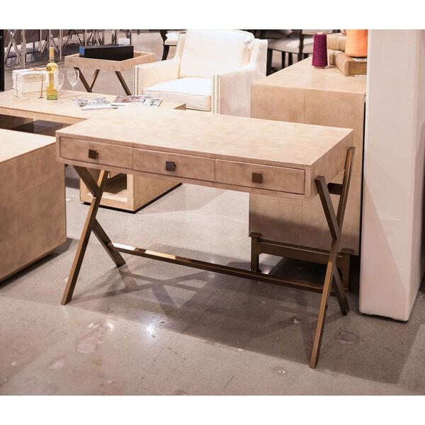 Beige Stuart Leather Desk, image 6