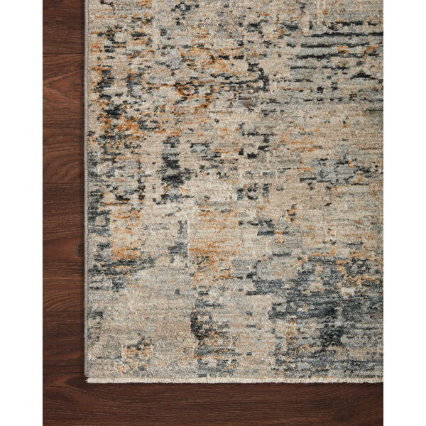 Axel Beige and Sky Area Rug, image 4