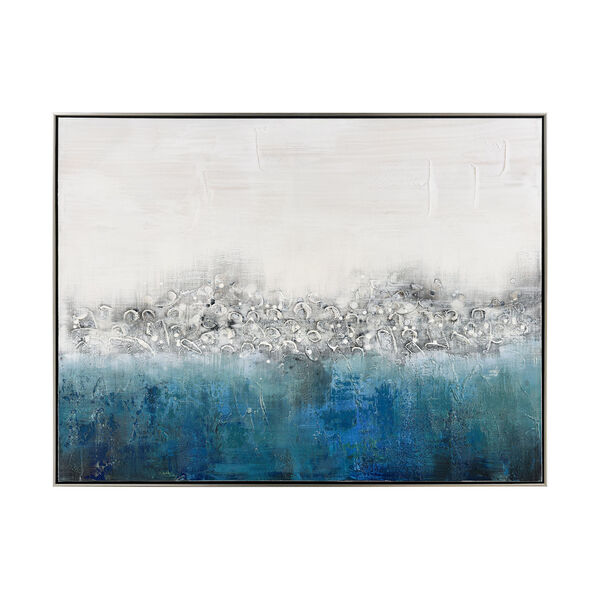 Boundless Acrylic Blue Wall Art, image 1
