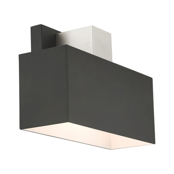 Lynx Black One-Light Outdoor ADA Wall Sconce, image 5