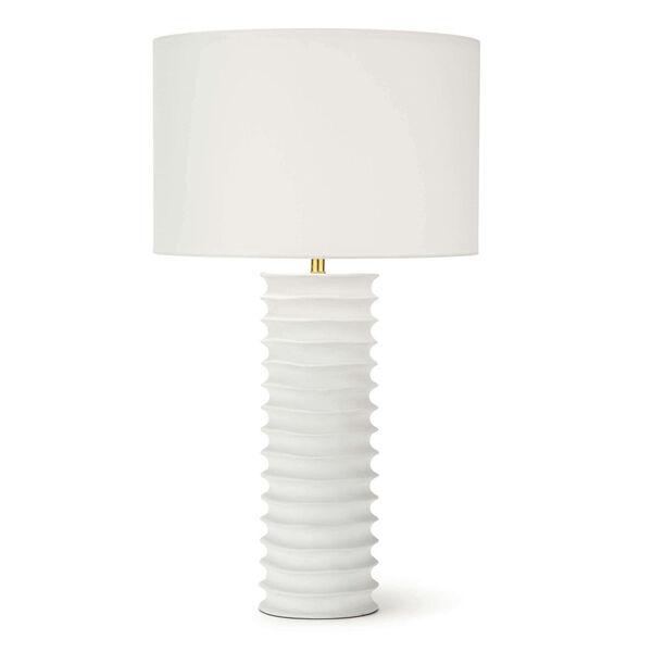 Nabu White One-Light Table Lamp, image 1