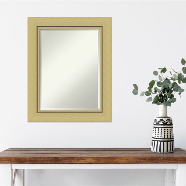 Landon Gold 24W X 30H-Inch Bathroom Vanity Wall Mirror, image 5