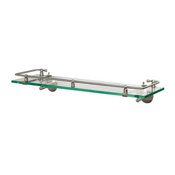 Premier Satin Nickel Railing Shelf, image 1