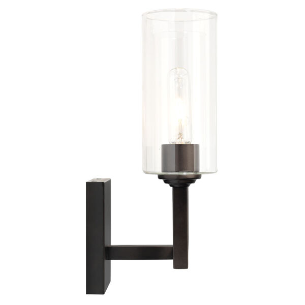 Linear Oil Rubbed Bronze Two-Light Wall Sconce, image 4