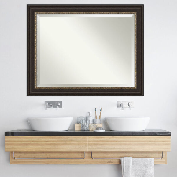Paragon Bronze 47W X 37H-Inch Bathroom Vanity Wall Mirror, image 6