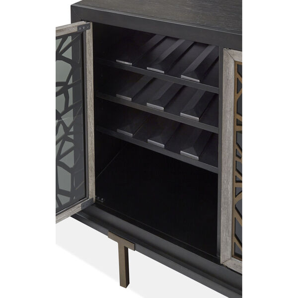 Ryker Black Cabinet, image 5