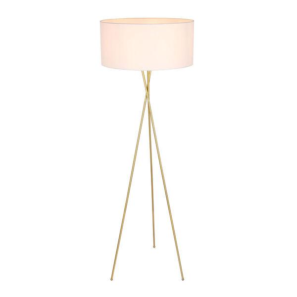 Cason Brass 66-Inch One-Light Floor Lamp, image 5