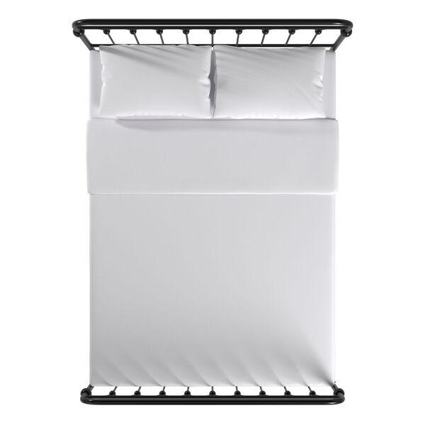 Isobel Black Full Metal Arches Platform Bed, image 5
