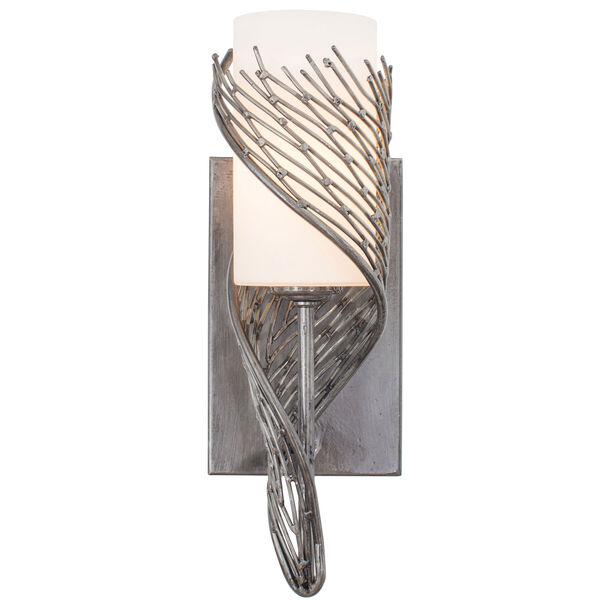 Flow Steel One Light Wall Sconce, image 1