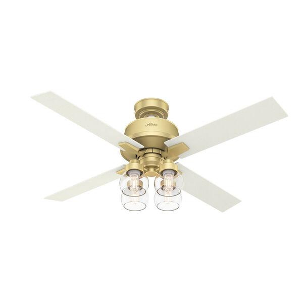 Viven Modern Brass 52-Inch LED Ceiling Fan, image 1