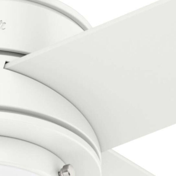 Hepburn Matte White 44-Inch LED Ceiling Fan, image 5