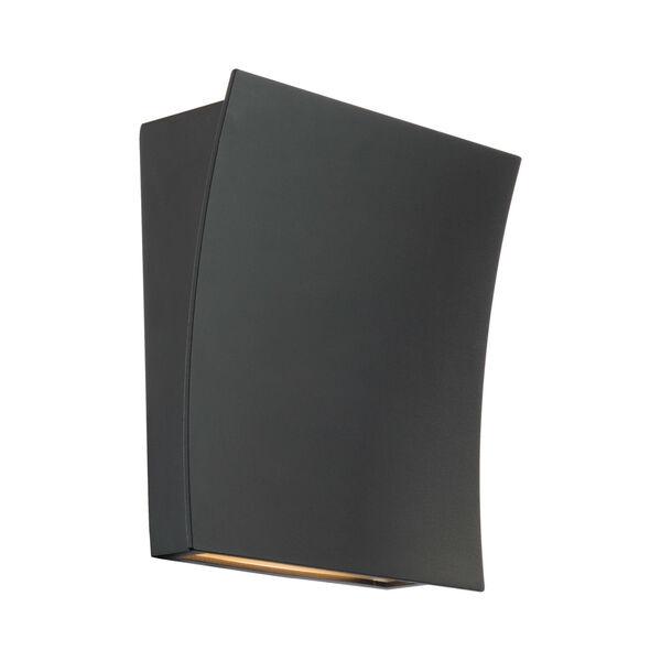 Slide Black Two-Light LED 3000K Wall Sconce, image 1