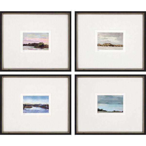 Land Study IV Multicolor Framed Art, Set of Four, image 2