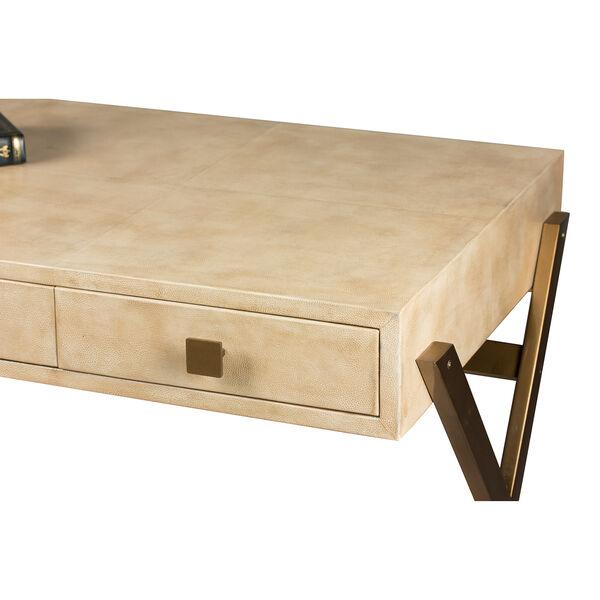 Beige Stuart Leather Desk, image 4