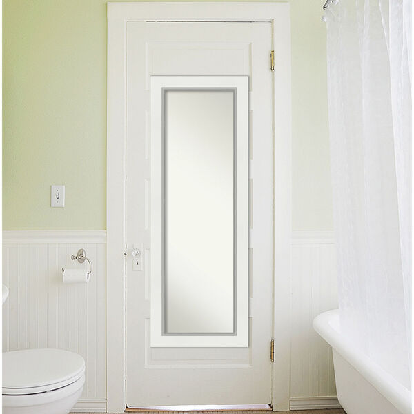 Eva White and Silver Full Length Mirror, image 5