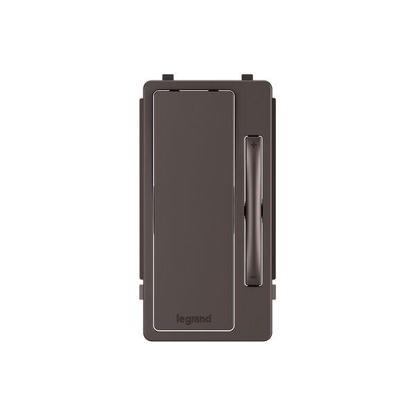 Dark Bronze Multi-Location Remote Dimmer Interchangeable Face Plate, image 1