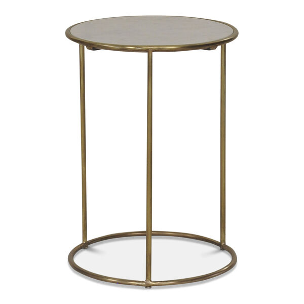 Gold Side Table, image 1