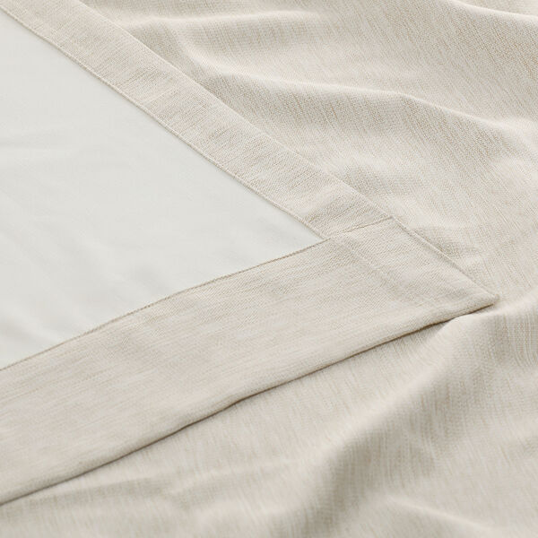 Bellino Cottage White 50 x 108-Inch Blackout Curtain, image 7