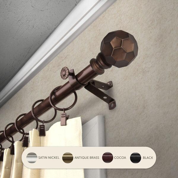 Christiano Cocoa 48-Inch Curtain Rod, image 2