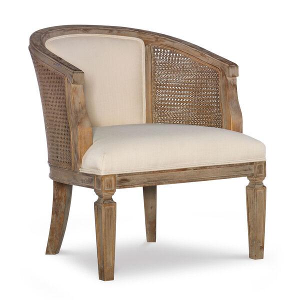 Navaeh Gray Wash Chair, image 1