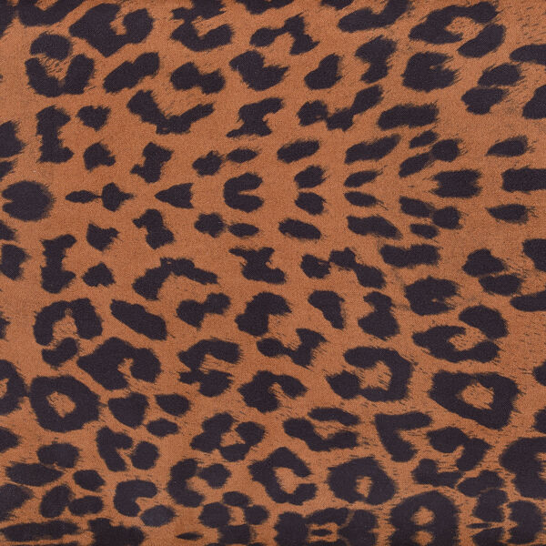 Designs4Comfort 5th Avenue Forest Leopard Print Storage Ottoman, image 2
